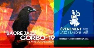 Circuit Sacré Jazz Corbo-19 du Festival International de Jazz de Québec - 8 au 18 octobre