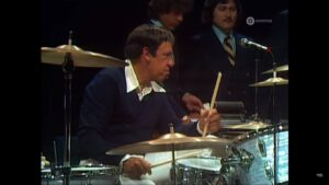 Le légendaire batteur Buddy Rich - Channel 1 Suite au North Sea Jazz Festival (1978)